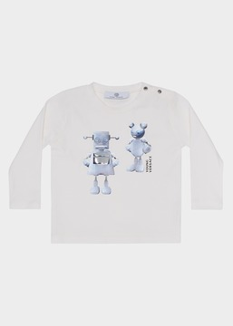 Versace Digital Robot Sweatshirt