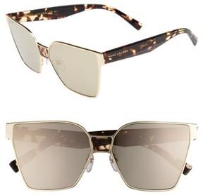 Marc Jacobs Women's 60Mm Square Sunglasses - Gold
