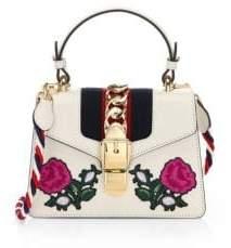 Gucci Sylvie Mini Leather Top Handle Bag - MULTI - STYLE