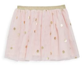 Lili Gaufrette Baby's Printed Tulle Skirt