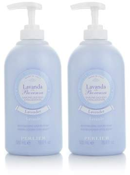 Perlier Lavender Liquid Soap Duo