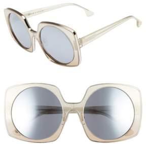 Alice + Olivia Women's Canton 55Mm Special Fit Square Sunglasses - Stellar