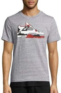 Mostly Heard Rarely Seen Jordon Lego Heathered T-Shirt