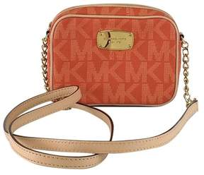 Michael Kors Orange Monogram Crossbody - ORANGE - STYLE
