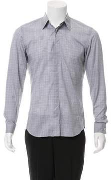 Calvin Klein Collection Striped Button-Up Shirt