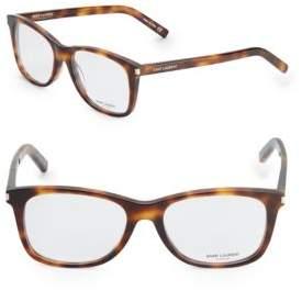 Saint Laurent Shiny 54MM Optical Glasses