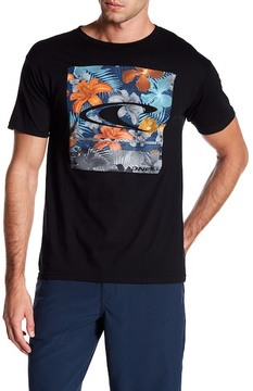 O'Neill Floral Graphic Print Tee