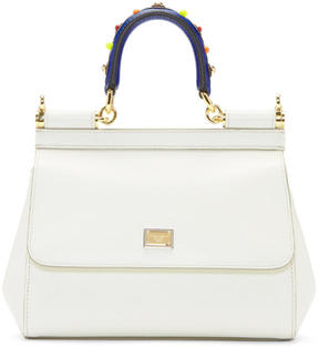 Dolce & Gabbana White Small Miss Sicily Bag