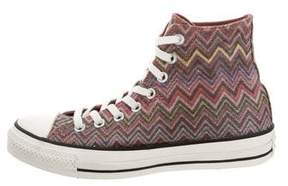Converse Missoni x Chevron High-Top Sneakers