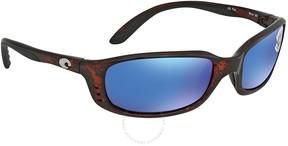 Costa del Mar Blue Mirror 580G Wrap Sunglasses BR 10 OBMGLP