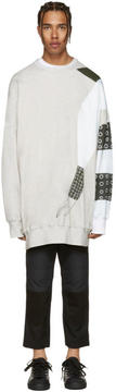 J.W.Anderson SSENSE Exclusive Grey Kelly Beeman Edition Oversized Graphic Pullover