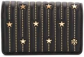 Tory Burch Fleming star-stud card case