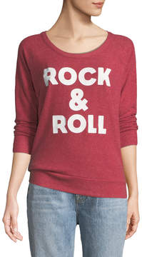 Chaser Rock-&-Roll Open-Back Terry Sweatshirt