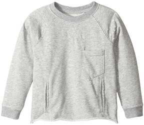 Hudson Raglan Shirt French Terry Pullover w/ Grinding and Destruction Boy's Clothing