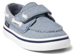 Ralph Lauren Batten Chambray Ez Boat Shoe Blue Chambray 4