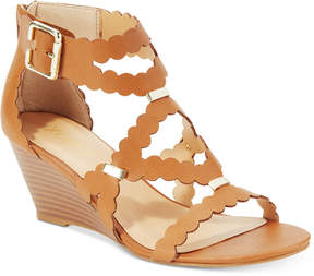 XOXO Scottie Wedge Dress Sandals Women's Shoes