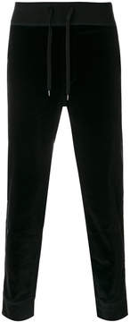 Ermanno Scervino straight-leg velvet trousers