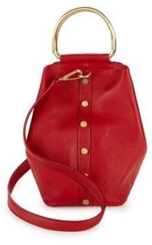 Sam Edelman Madalynn Leather Bucket Bag