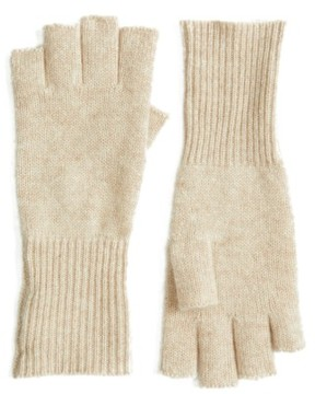 Halogen Women's Cashmere Fingerless Gloves