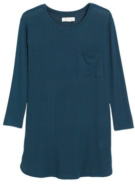 Treasure & Bond Girl's Cozy Shirtdress