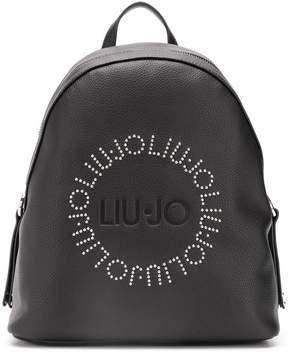 Liu Jo logo studded backpack