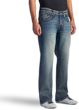 Rock & Republic Men's Worn Out Stretch Straight-Leg Basic Jeans