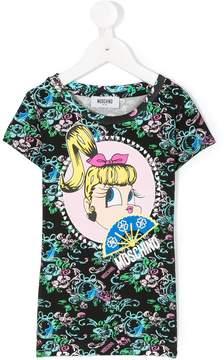 Moschino Kids cartoon T-shirt