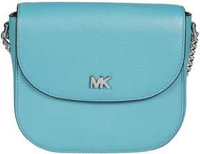 Michael Kors Mott Dome Shoulder Bag - TILE BLUE - STYLE