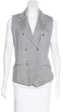 Eleventy Double-Breasted Notched-Lapel Vest w/ Tags