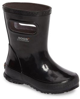 Bogs Toddler Boy's Skipper Rubber Rain Boot