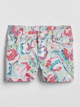 Gap Print Denim Shorts