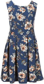 Copper Key Big Girls 7-16 Fit-And-Flare Floral Dress