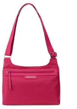 Longchamp Le Pliage Neo Crossbody Bag - RASPBERRY - STYLE