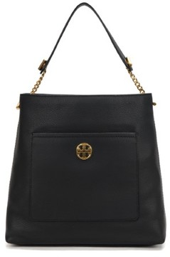 Tory Burch Chelsea Chain Hobo Bag 41525-001 Black - ONE COLOR - STYLE