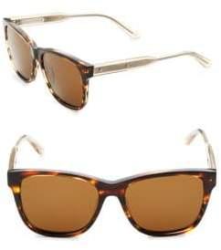Bottega Veneta 55MM Tortoise Square Sunglasses