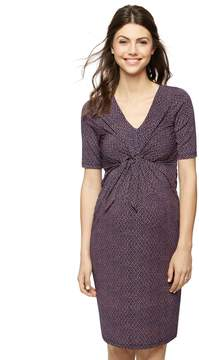 A Pea in the Pod Back Interest Maternity Dress
