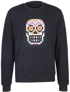 Mostly Heard Rarely Seen 'Muertos Skull' rubber appliqué unisex sweatshirt