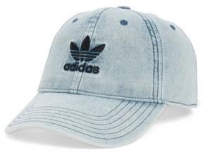 Women's Adidas Originals Relax Baseball Cap - Blue