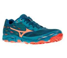 Mizuno Womens Wave Hayate 2 Low Top Lace Up Running Sneaker.