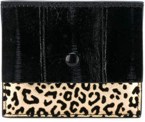 Corto Moltedo leopard card holder