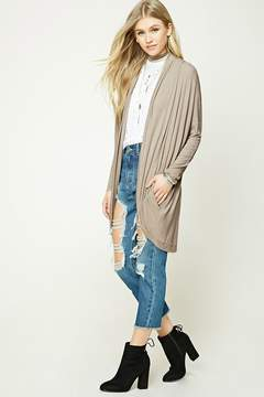 Forever 21 Open-Front Cardigan