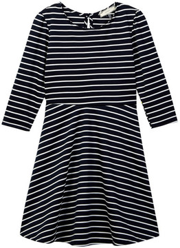 Soprano Knit Embellished Stripe Dress (Little Girls & Big Girls)