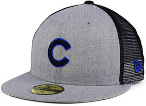 New Era Chicago Cubs New School Mesh 59FIFTY Fitted Cap