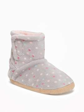 Old Navy Performance Fleece Booties for Toddler Girls