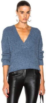 Dion Lee Shearling Boucle Sweater
