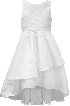 Bonnie Jean Girls 7-16 Asymmetrical Peplum Dress