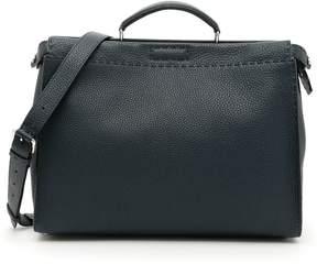 Fendi Roman Leather Selleria Peekaboo Bag