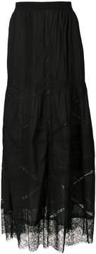 Diesel embroidered skirt