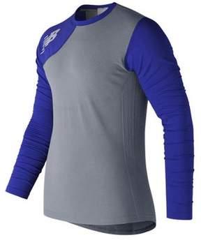 New Balance Men's MT7370R Seamless X4J Asymmetrical Right Pullover