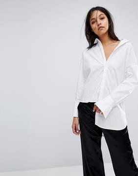 Gestuz Long Shirt With Asymmetric Detail